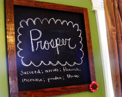 prosper